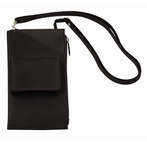 Microfiber Cross Body Wallet