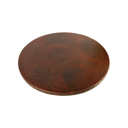 Premier Copper Products Hand Hammered Copper Lazy Susan