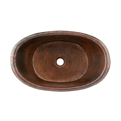Premier Copper Products Tub Vessel Bathroom Sink