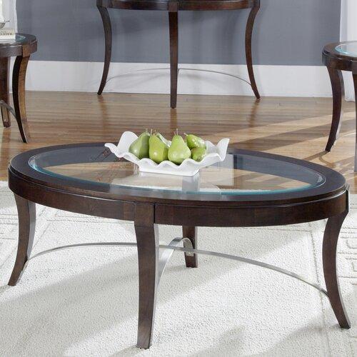 wood poplar coffee table wayfair