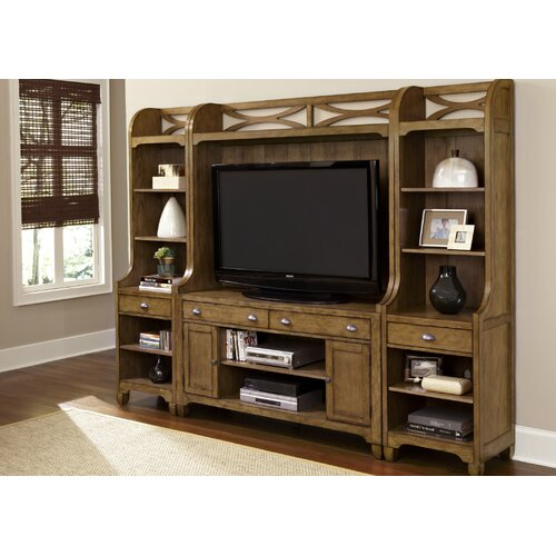 Cherry wood entertainment center wayfair Wooden entertainment center furniture