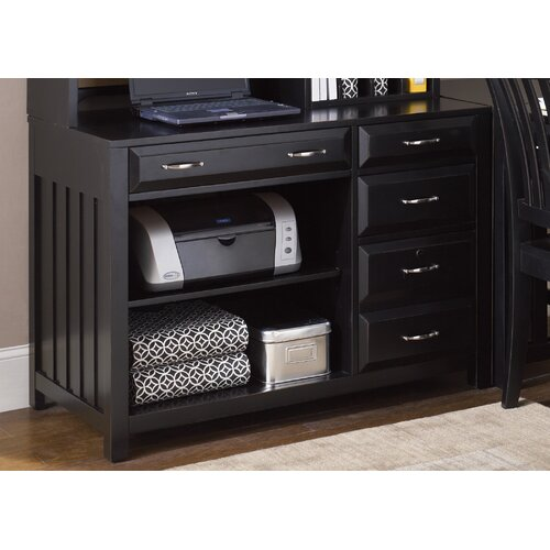 Liberty Furniture Hampton Bay Computer Credenza in Black