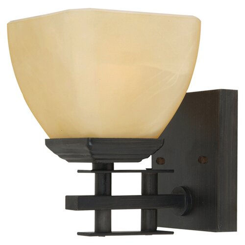 Yosemite Home Decor Half Dome 1 Light Wall Sconce
