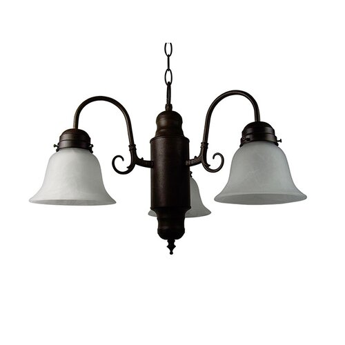 Yosemite Home Decor Manzanita 3 Light  Chandelier