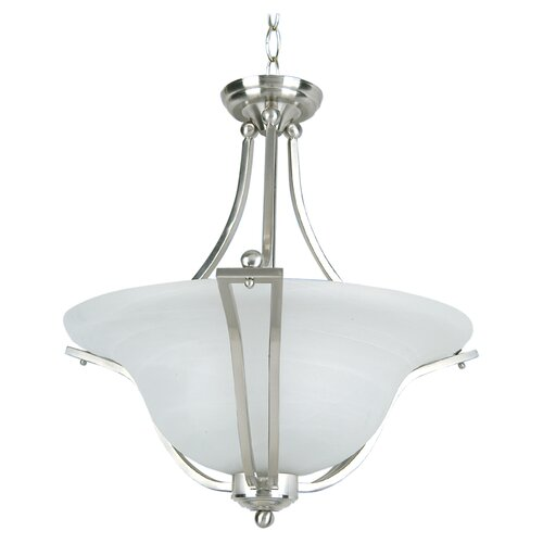 Redwood 3 Light Foyer Inverted Pendant