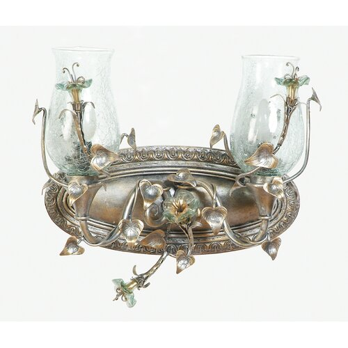 Yosemite Home Decor Morning Glory 2 Light Vanity Light