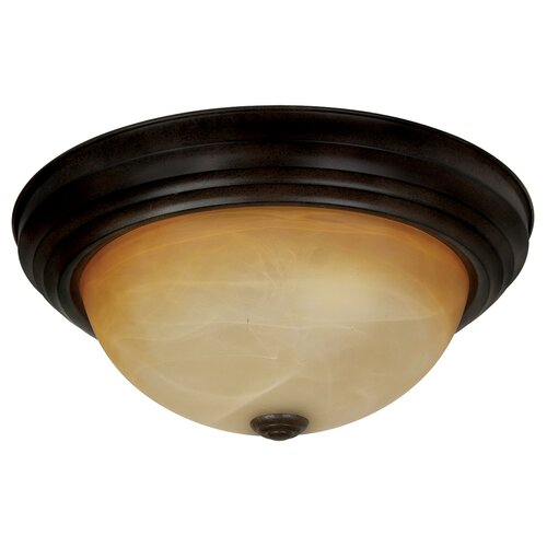 Yosemite Home Decor Belen 3 Light Flush Mount
