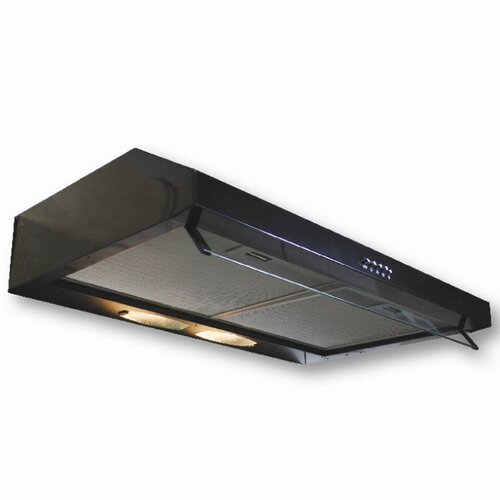 "Yosemite Home Decor Builder Series 29.5"" 300 CFM Undercabinet Range Hood with 300 CFM Internal Blower"