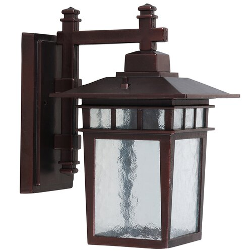 Yosemite Home Decor Dante 1 Light Outdoor Wall Lantern