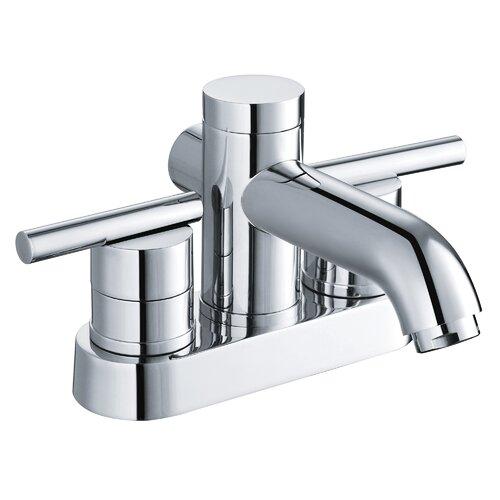Yosemite Home Decor Two Handle Centerset Bathroom Faucet