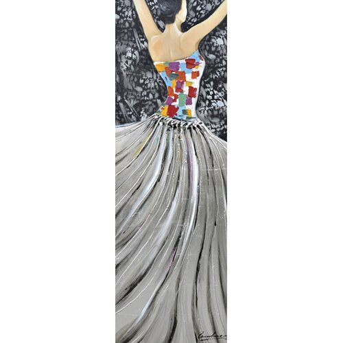 Yosemite Home Decor Revealed Art Garden Ballet II Original Painting on Canvas