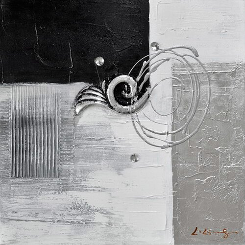 Revealed Art Back to Square II Original Painting on Canvas
