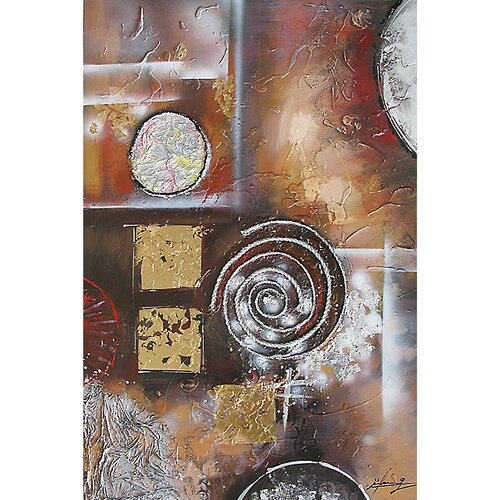 Contemporary & Abstract Art Synthesis I Original Painting on Canvas