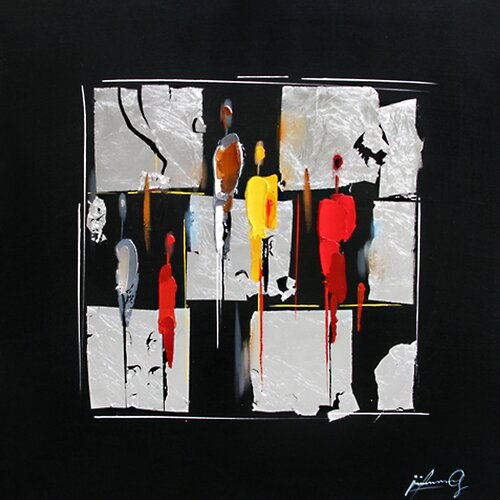 Contemporary & Abstract Art Indefinite I Original Painting on Canvas