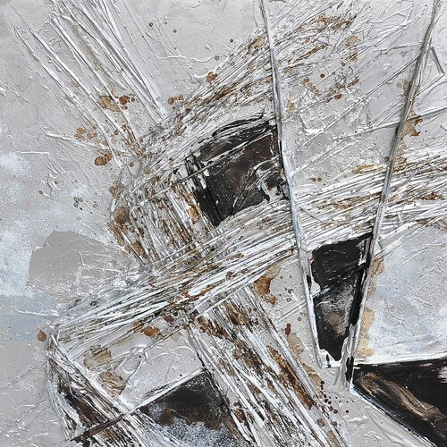 Revealed Art Vanishing Point III Original Painting on Canvas