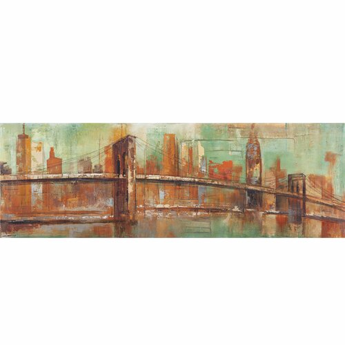 New Revealed Art New York View Original Painting on Canvas