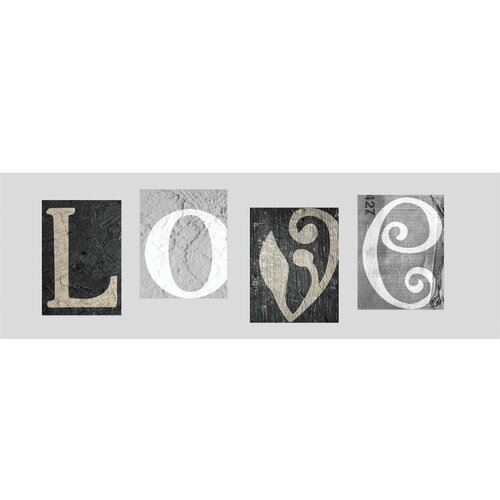 Yosemite Home Decor New Revealed Art Love Refined Textual Art on Canvas