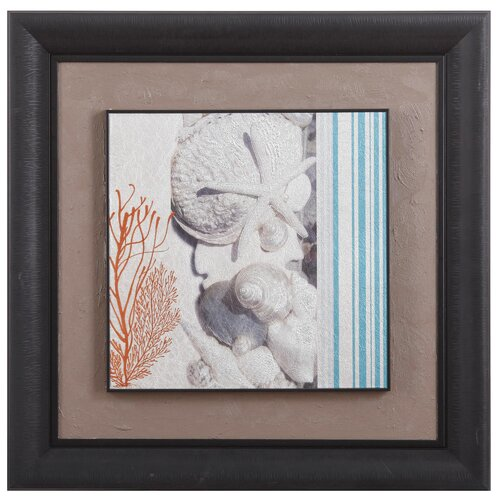New Revealed Art Seaside Framed Graphic Art