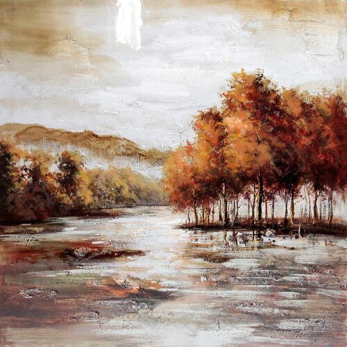 Yosemite Home Decor Revealed Art Natural Perspective I Original Painting on Canvas