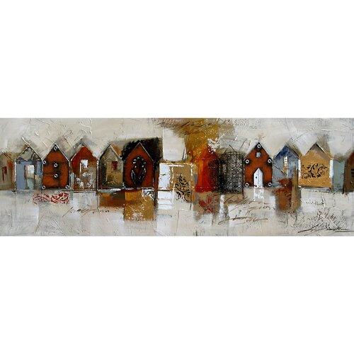 Yosemite Home Decor Contemporary & Abstract Art Casa Rurali I Original Painting on Canvas