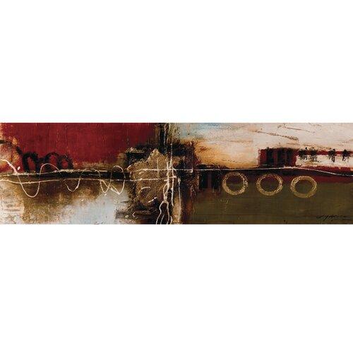 Unveiled Art Sunset Original Painting on Canvas