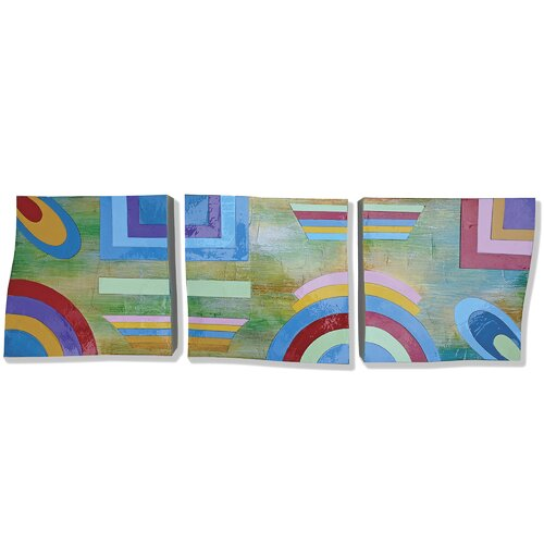 Yosemite Home Decor New Revealed Art Here and Now 3 Piece Original Painting on Canvas Set