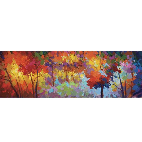 Yosemite Home Decor Revealed Art Autumn Unrestrained Original Painting on Canvas