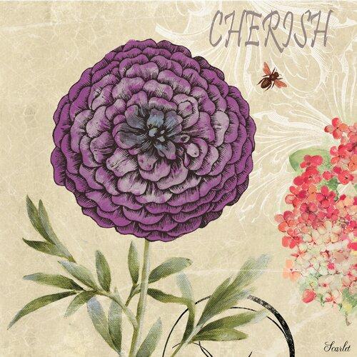 Revealed Artwork Cherished Beliefs II Graphic Art on Canvas