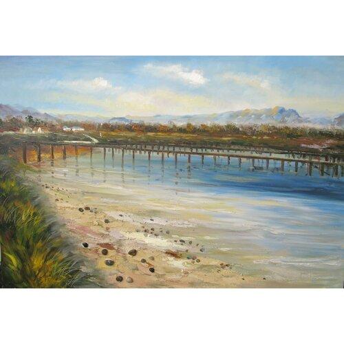 Artwork Santa Cruz VII Original Painting on Canvas