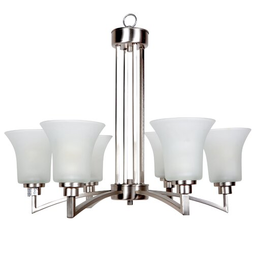 Yosemite Home Decor Aldridge 6 Light Chandelier