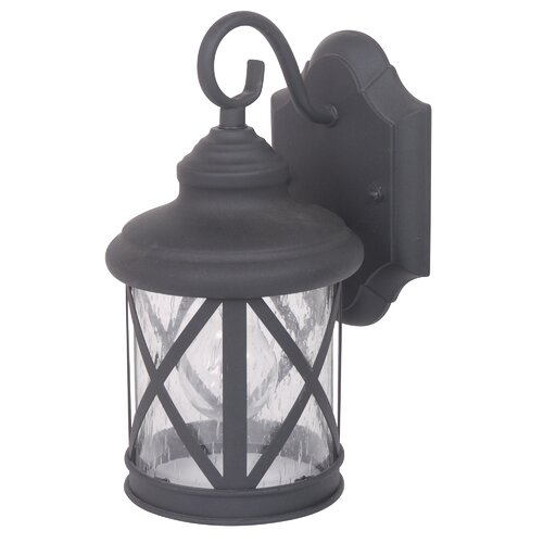Yosemite Home Decor Mahony 1 Light Outdoor Wall Light