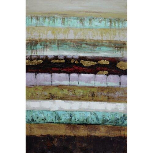 Yosemite Home Decor Revealed Artwork Layers II Painting Print on Canvas