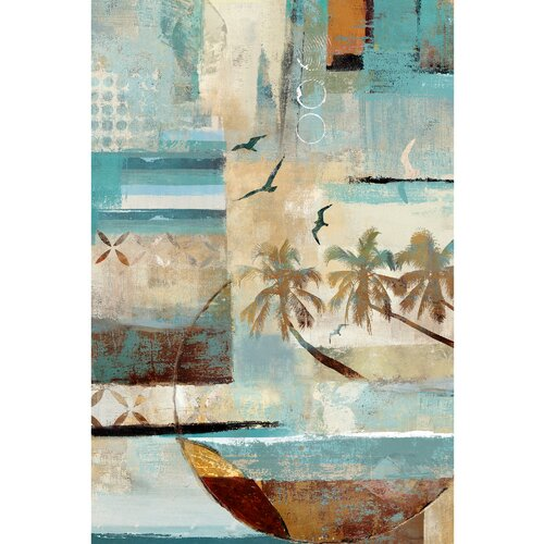 Revealed Artwork Tropical Mystique Painting Print on Canvas