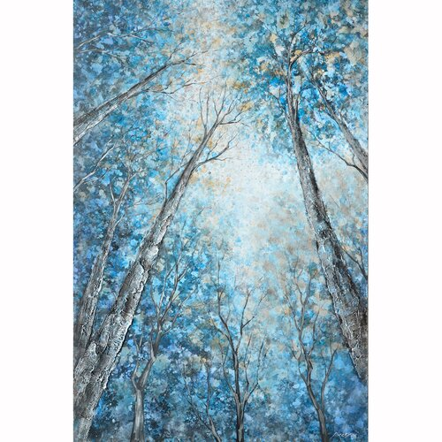 Revealed Artwork Into The Trees Original Painting on Canvas