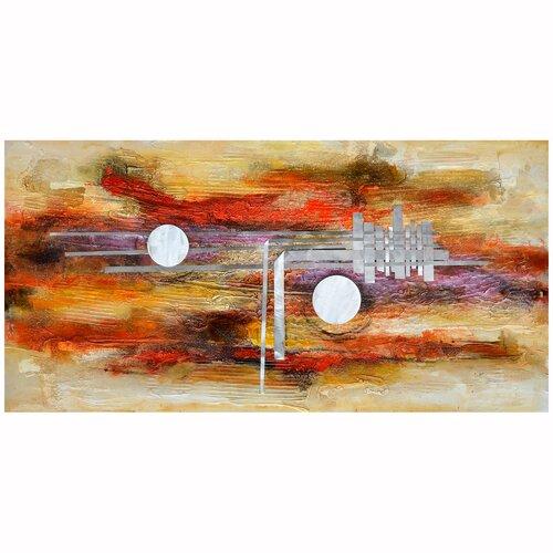 Revealed Artwork Vibrancy I Original Painting on Canvas