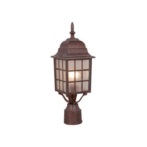 Vaxcel Vista 1 Light Outdoor Post Lantern