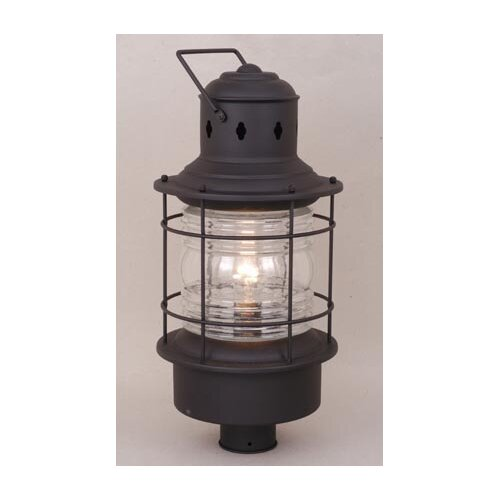 Vaxcel Nautical 1 Light Post Lantern