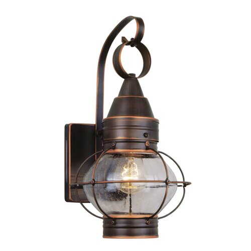 Wayfair External Wall Lights : Westinghouse Lighting Exterior Nautical 1 Light Wall Lantern & Reviews Wayfair
