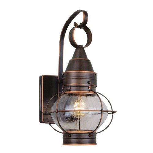 Nautical Exterior Wall Lights : Westinghouse Lighting Thomas Kinkade Inspired Home 1 Light Nautical Wall Lantern & Reviews Wayfair