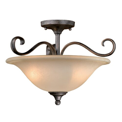 Vaxcel Riviera 2 Light Convertible Inverted Pendant