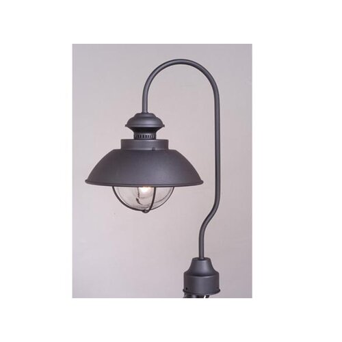 "Vaxcel Nautical 1 Light 10"" Post Lantern"