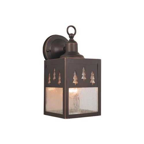 Vaxcel Yellowstone 1 Light Outdoor Wall Lantern