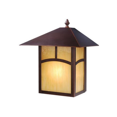 Vaxcel Mission 1 Light Outdoor Wall Lantern