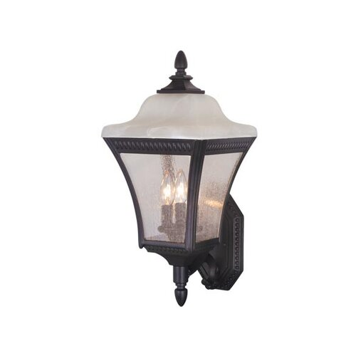 Vaxcel Emperor 3 Light Outdoor Wall Lantern