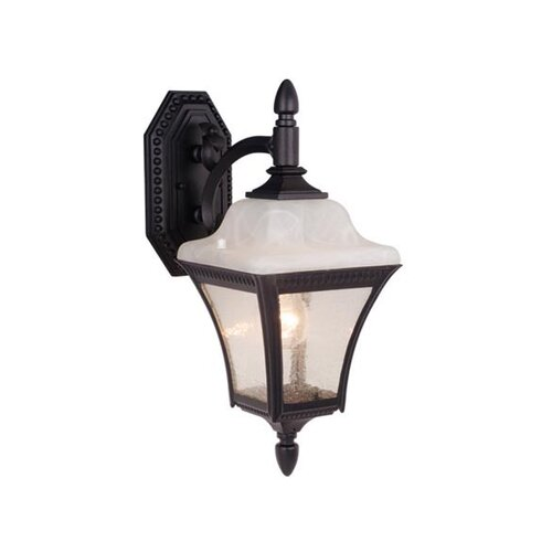 Vaxcel Emperor 1 Light Outdoor Wall Lantern