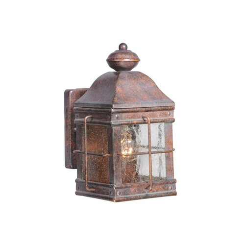 Vaxcel Revere 1 Light Outdoor Wall Lantern