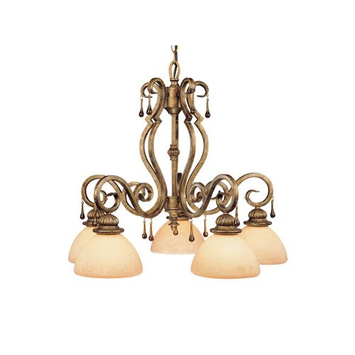 Vaxcel Versailles 5 Light Chandelier