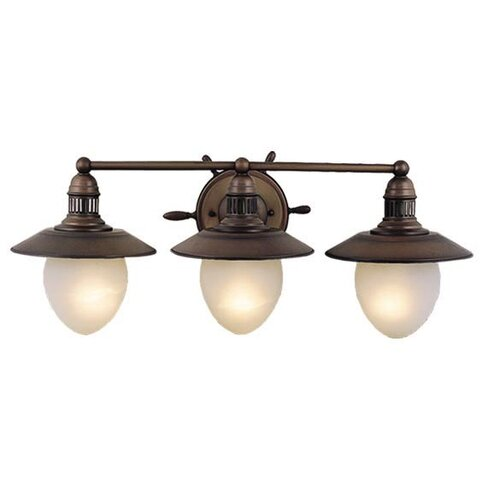 Vaxcel Nautical 3 Light Vanity Light