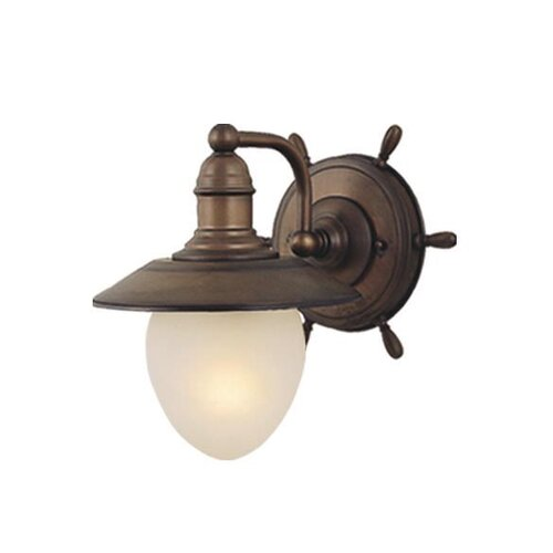 Vaxcel Nautical 1 Light Wall Sconce