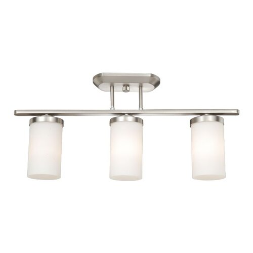 Oxford Kitchen Island Light in Brushed Nickel